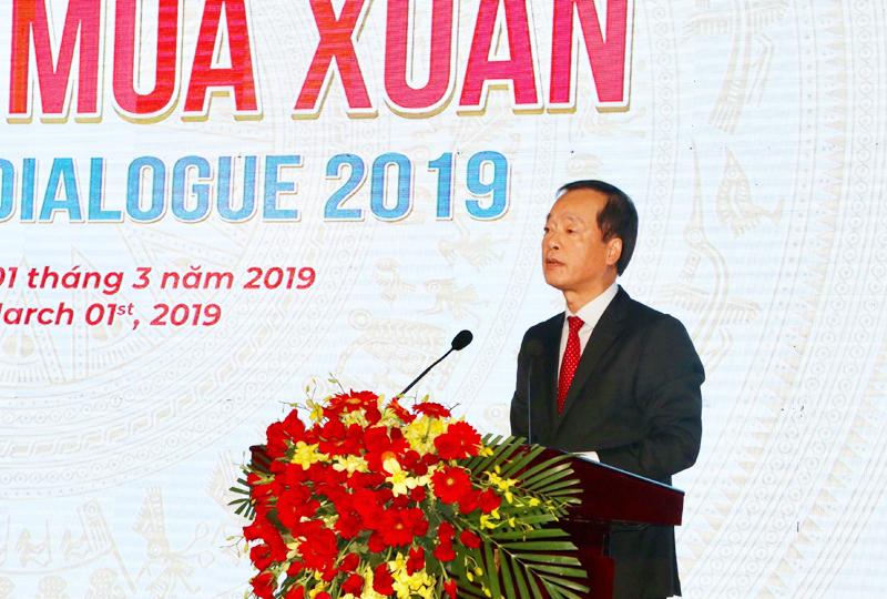 Bộ trưởng Bộ Xây dựng Phạm Hồng Hà phát biểu tại Tọa đàm mùa xuân 2019 của Đà Nẵng