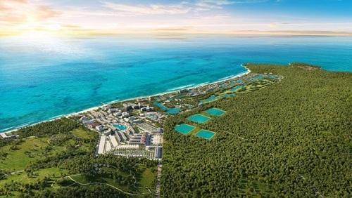 Grand World Phú Quốc có tổng diện tích hơn 85ha với mật độ xây dựng chỉ 19,68%.