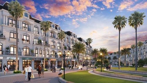 Tuyến phố thương mại thiết kế theo ba phong cách kiến trúc riêng biệt và buôn bán các mặt hàng đa dạng, hứa hẹn thu hút du khách đến tham quan, mua sắm