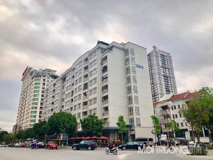Chung cư NO8B - Khu đô thị mới Dịch Vọng (p. Dịch Vọng, q. Cầu Giấy, TP. Hà Nội)