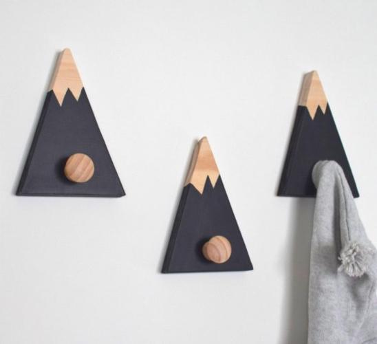 Móc treo hình núi giữ cho các loại khăn tắm luôn khô ráo và sạch s
