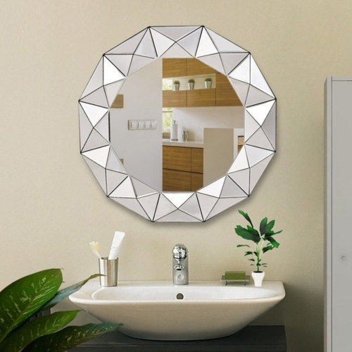Thay đổi gương có thể biến phòng tắm của bạn từ đơn giản đến sang trọng đầy bất ngờ