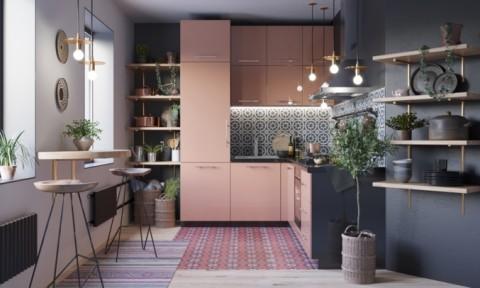 Cách phối màu, thiết kế phòng bếp theo phong cách hiện đại