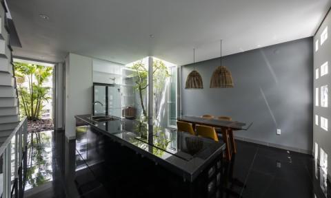 Ngôi nhà của sự giao thoa tự nhiên giữa ánh sáng và gió tại Nha Trang