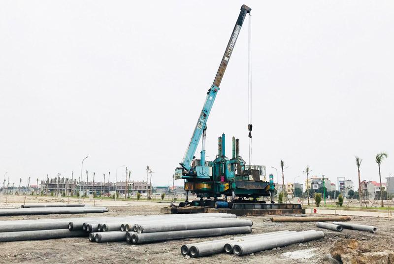 Nhiều dự án đang trong giai đoạn triển khai hoàn thiện hạ tầng tại thành phố Uông Bí