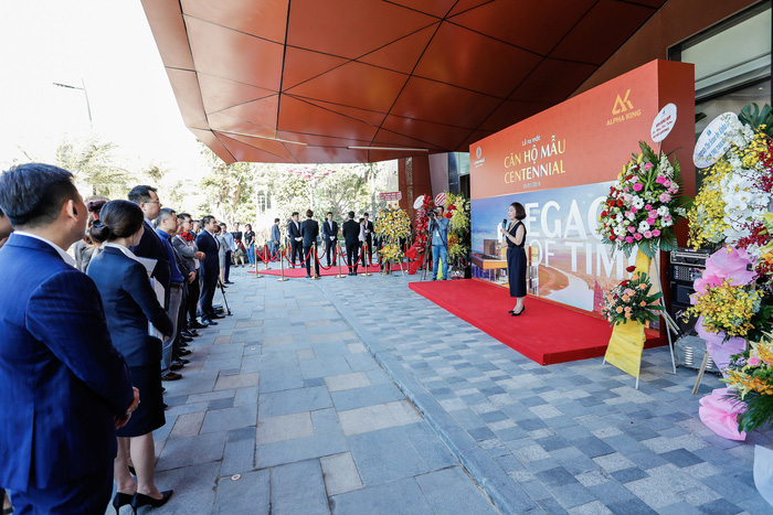 1.400 khách tham dự sự kiện ra mắt căn hộ mẫu Centennial vào tháng 1/2019