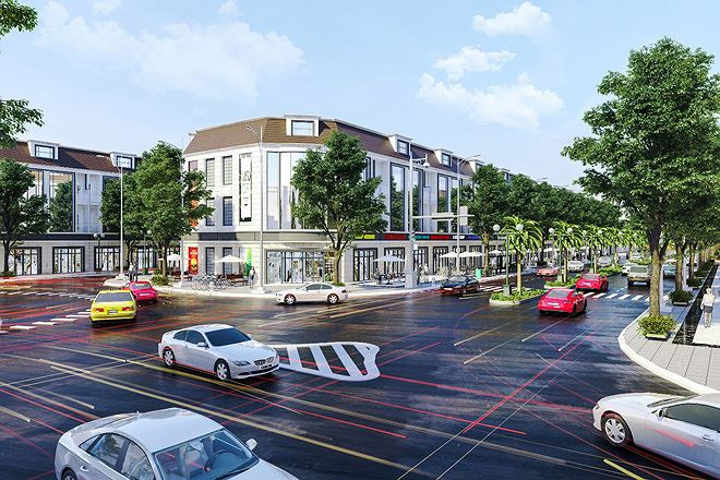 """Một dự án khu dân cư – thương mại đang được phát triển ở phường 5 Thành phố Vĩnh Long, ngay """"cửa ngõ"""" của Thành phố Cần Thơ"""