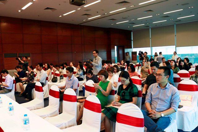Buổi họp báo thu hút sự quan tâm, tham dự của đông đảo phóng viên các cơ quan báo chí