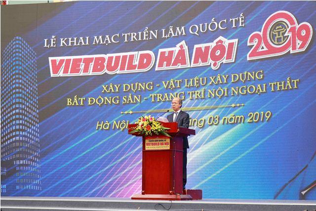 Ông Nguyễn Trần Nam - Trưởng Ban tổ chức phát biểu khai mạc Triển lãm