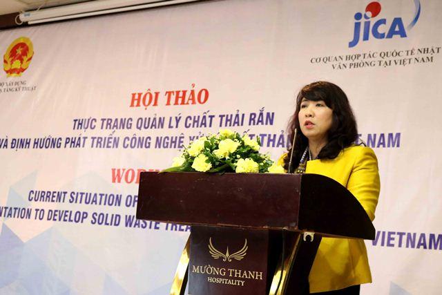 Cục trưởng Cục HTKT, PGS.TS Mai Thị Liên Hương phát biểu khai mạc Hội thảo