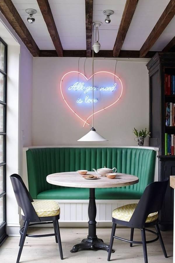 Ghế liền tường là sự lựa chọn hoàn hảo cho những không gian nhỏ