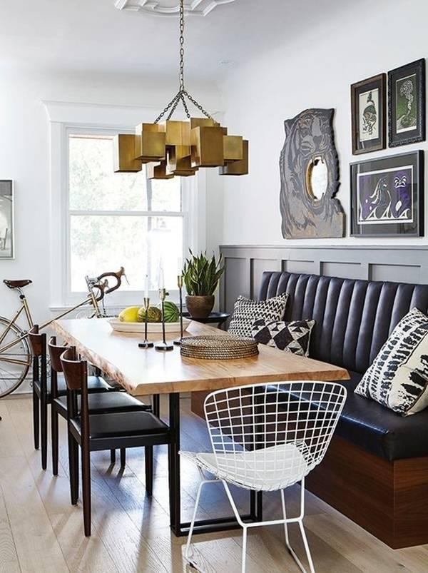 Ngoài ra, bạn có thể kết hợp ghế liền tường với các loại ghế khác mà không làm ảnh hưởng đến không gian nội thất của căn phòng.