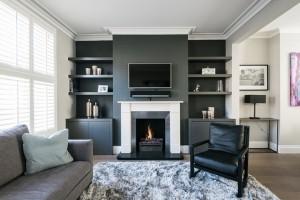 Bí kíp phối màu đen làm không gian căn nhà tươi sáng