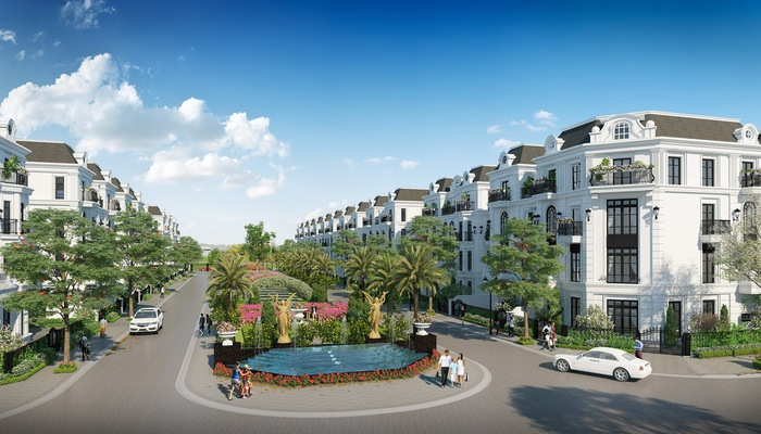 Phối cảnh dự án biệt thự, liền kề Elegant Park Villa