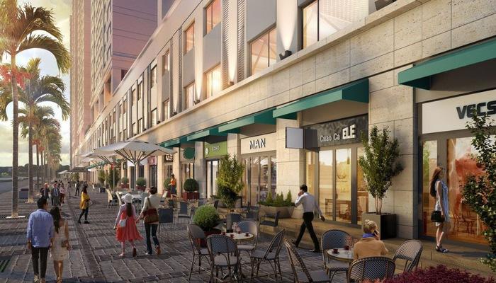 """Shophouse hay còn gọi """"nhà phố thương mại"""" là hình thức căn hộ nhà ở kết hợp với cửa hàng kinh doanh"""