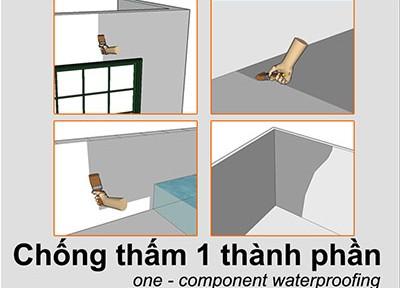 Những điều cần biết về phụ gia chống thấm trong các công trình xây dựng