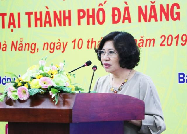Thứ trưởng Bộ Xây dựng Phan Thị Mỹ Linh chia sẽ những thách thức và khó khăn trong Xây dựng đô thị thông minh