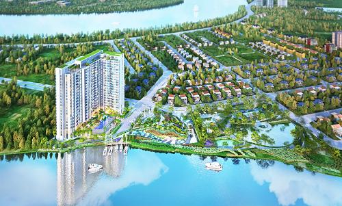 Thủ Thiêm Dragon có vị trí tốt tại đô thị Thạnh Mỹ Lợi quận 2 được quy hoạch bài bản, có tiềm năng thu hút dân cư và các doanh nghiệp tại khu vực cảng Cát Lái
