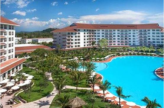 Tổ hợp khách sạn Sheraton Grand Đà Nẵng Resort do Cty CP Tập đoàn BRG làm chủ đầu tư