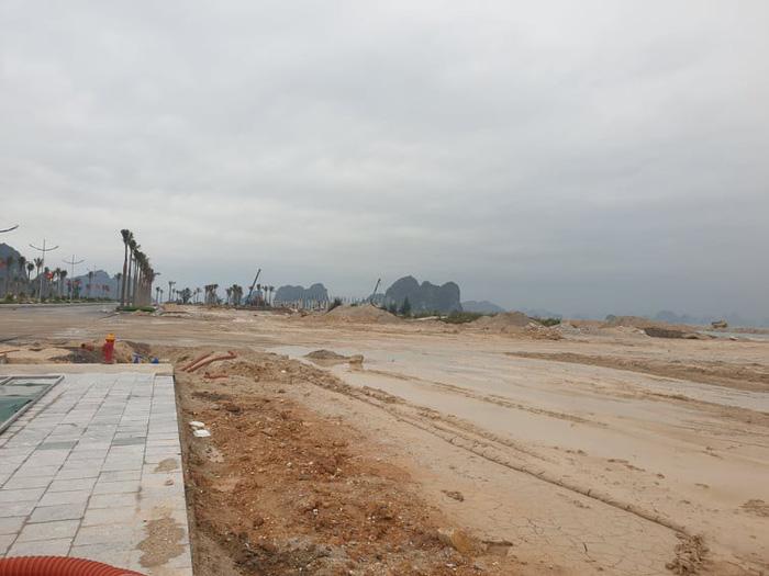 """Một dự án đang được nhiều môi giới tung tin """"sốt giá"""" tại Vân Đồn, Quảng Ninh - Ảnh: CTV"""