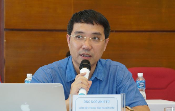 Ông Ngô Anh Tú - Giám đốc Trung tâm Nghiên cứu và Đào tạo Sở GTVT Hà Nội