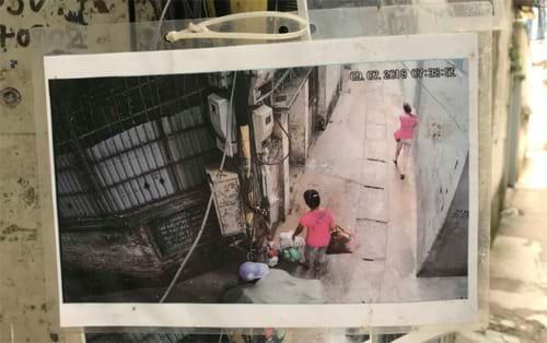 Những bức hình người đổ rác trộm được trích xuất từ camera, có ngày giờ rõ ràng, nên không ai phản đối hoặc đến đòi gỡ xuống. Ảnh: Lệnh Thắng