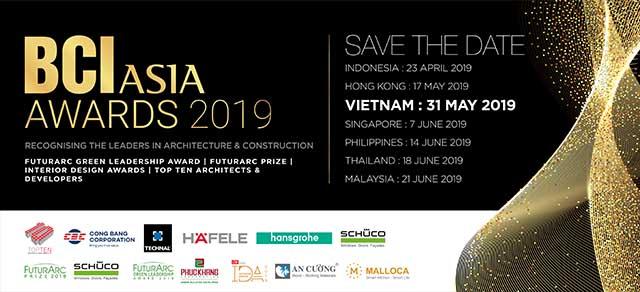 BCI Asia Awards khuyến khích tạo ra những công trình kiến trúc có trách nhiệm với xã hội