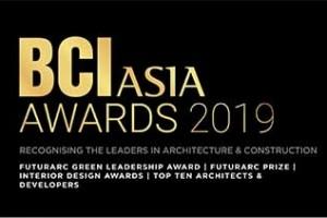 Trao giải BCI Asia Awards 2019 cho Top 10 công ty Kiến trúc và Chủ đầu tư hàng đầu Việt Nam