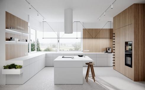 """Đảo bếp đóng vai trò như """"khoảng thở"""" cần thiết giúp việc di chuyển trong bếp được dễ dàng"""