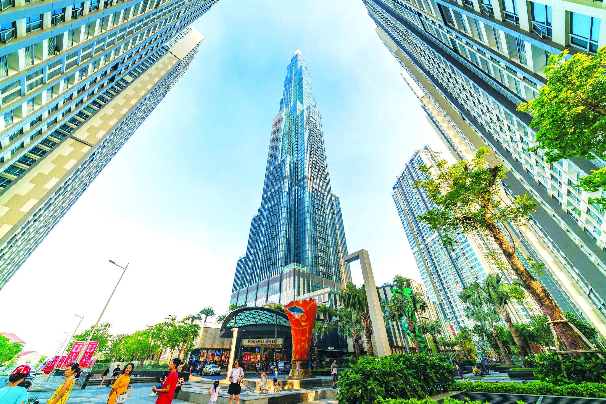 Tháp cao ốc cao nhất Việt Nam Landmark 81 TPHCM là công trình cao tầng 'toàn cầu', ứng dụng nhiều loại công nghệ thiết kế và thi công tiên tiến lần đàu tiên triển khai tại Việt Nam