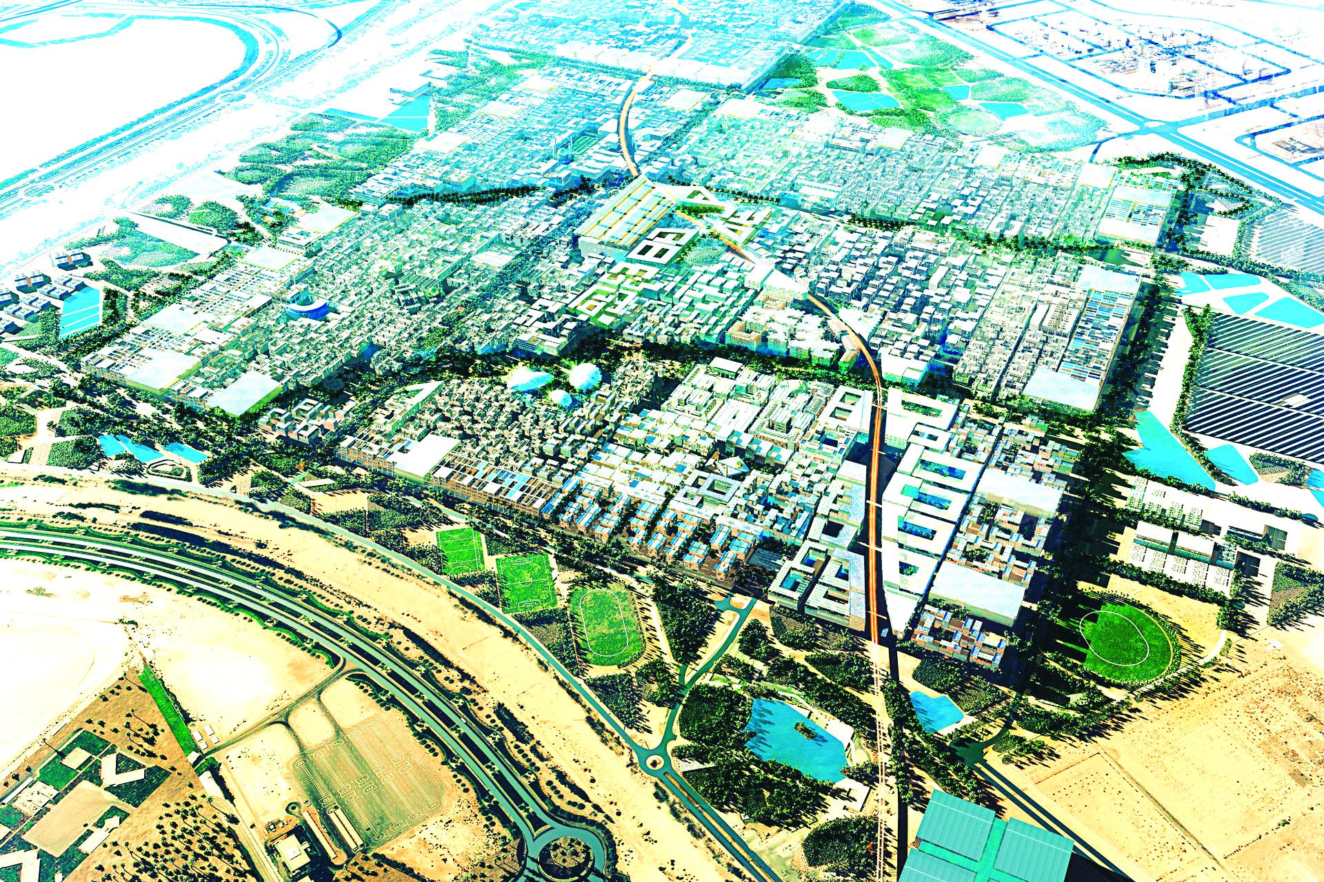 Mô hình  quy hoạch thành phố Xanh và thông minh Masdar City ( UAE)