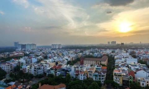 Giá nhà liền thổ Sài Gòn tăng gần 35%