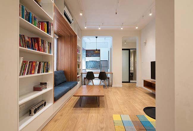 Các KTS thay đổi toàn bộ phong cách nội thất căn chung cư, làm mới đồ dùng trong căn hộ, thay đổi màu sắc và ánh sáng để tiết kiệm chi phí vận hành điện năng