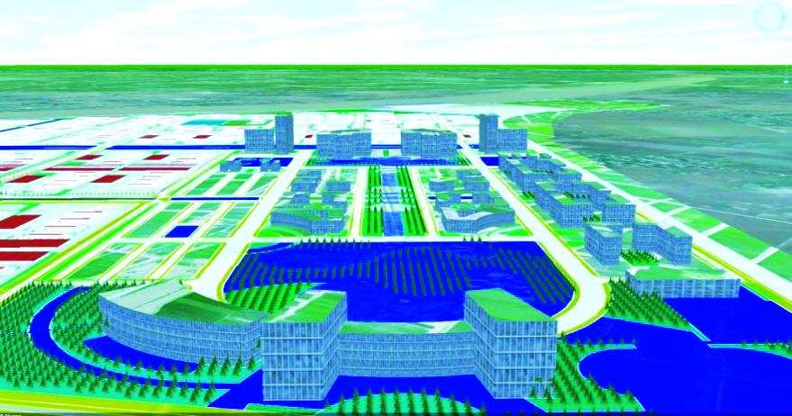 Mô hình 3D được thành lập từ CSDL 2D
