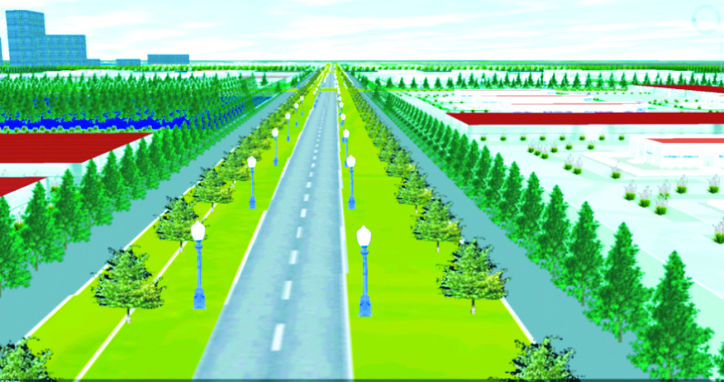 Tích hợp đường giao thông vào mô hình 3DCM