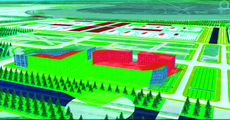 Mô hình 3DCM phục vụ tính toán tầm nhìn