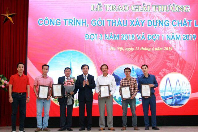 Các đơn vị nhận giải thưởng từ Ban tổ chức