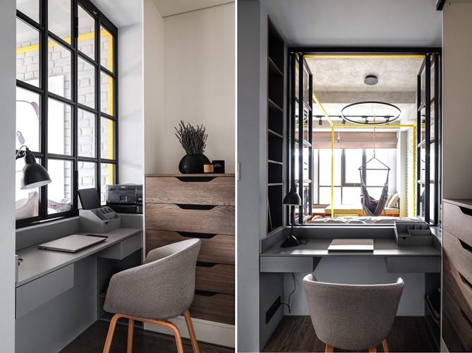 Phòng làm việc nhỏ thiết kế một góc riêng đảm bảo sự yên tĩnh
