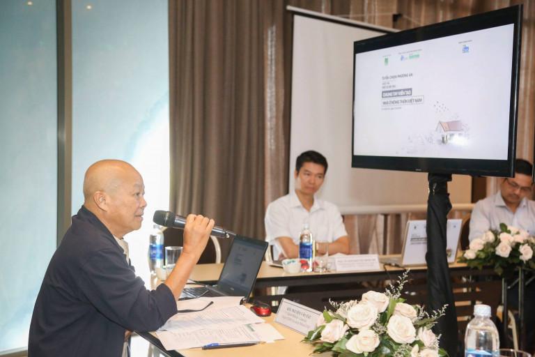 KTS Nguyễn Văn Tất – Chủ trì Thiết kế – Giám đốc Công ty TNHH Tư vấn & Thiết kế TAD chia sẻ về tính ứng dụng của cuộc thi