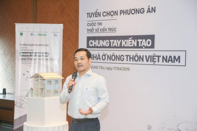 KS Trịnh Anh Đức – Đại diện Công ty TNHH NS BlueScope Việt Nam chia sẻ cảm nghĩ và đánh giá từ phía nhà tài trợ