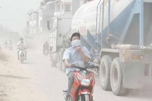 Tăng cường công tác kiểm soát ô nhiễm không khí tại Hà Nội, TP. Hồ Chí Minh