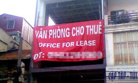 Văn phòng cho thuê đắt đỏ làm khó doanh nghiệp nhỏ và vừa