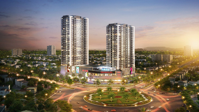Chung cư cao cấp trung tâm thành phố Bắc Ninh hút khách