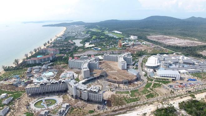 Huyện đảo Phú Quốc đang được đầu tư bởi nhiều dự án lớn
