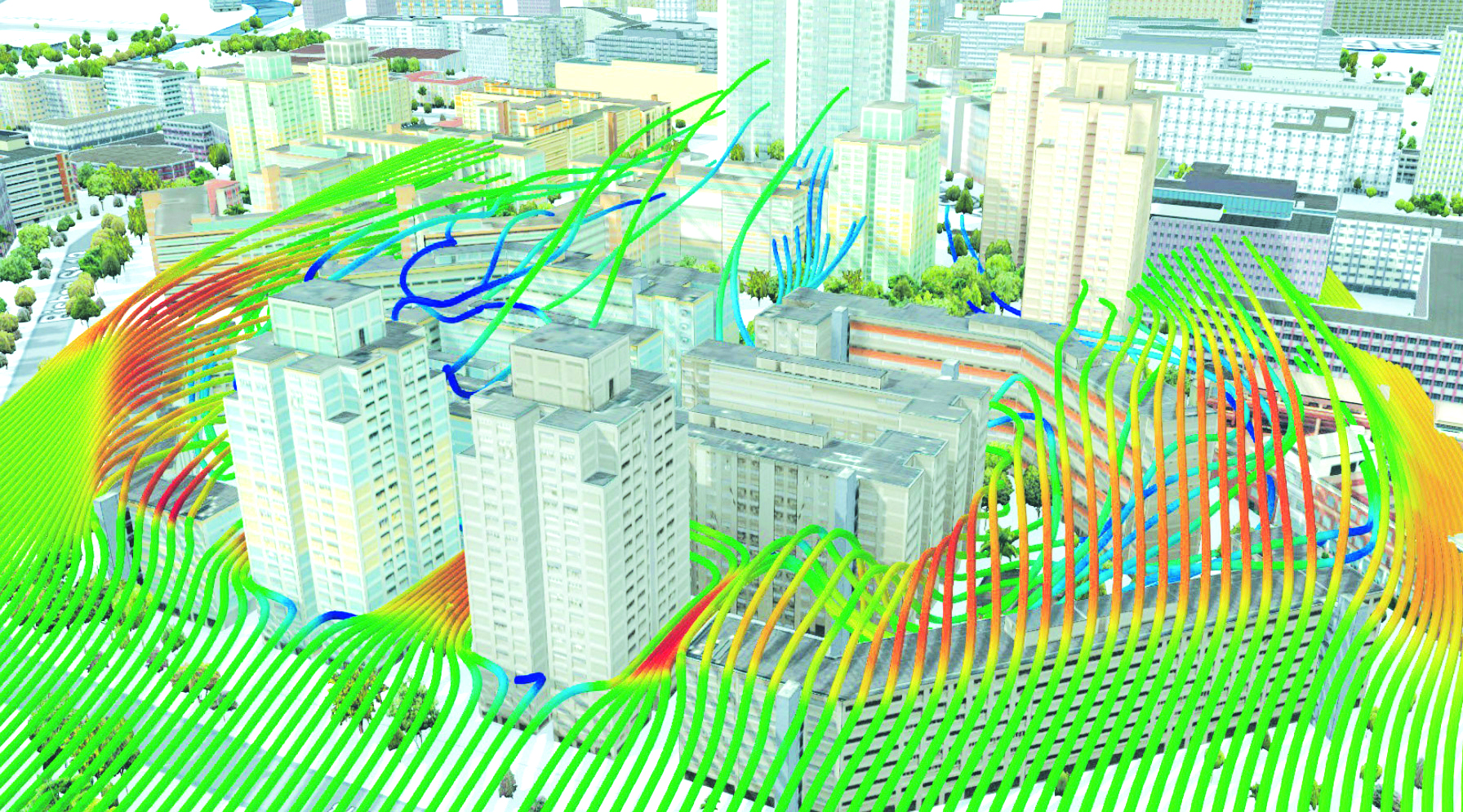 Ứng dụng công nghệ mô phỏng  3D tính toán năng lượng gió  trong quy hoạch đô thị và thiết kế kiến trúc công trình tại Hoa Kỳ