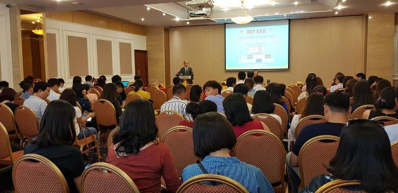 Ban Tổ chức Vietbuild tổ chức họp báo về Triển lãm quốc tế Vietbuild 2019 tại TP Hồ Chí Minh