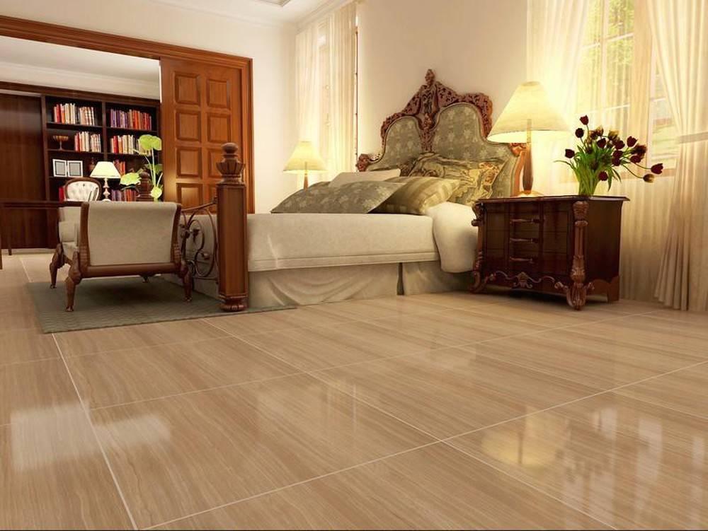 Độ bóng đẹp của gạch giả gỗ ốp tường hoặc ốp sàn bền vững theo thời gian và không bị ảnh hưởng bởi tác động của các yếu tố thời tiết