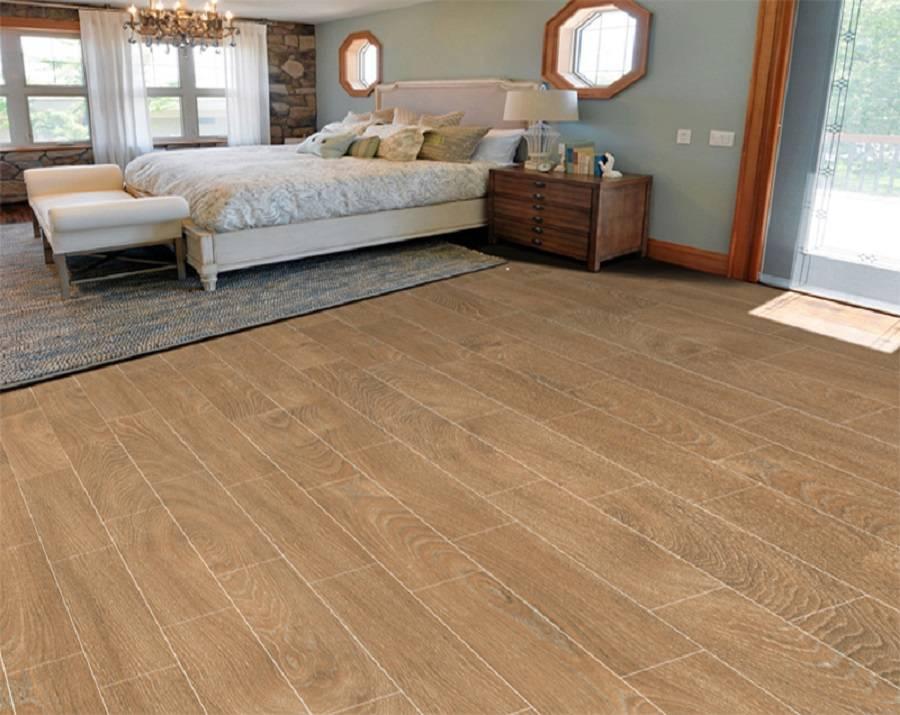 Gạch giả gỗ mang nét đẹp không khác gì gỗ tự nhiên