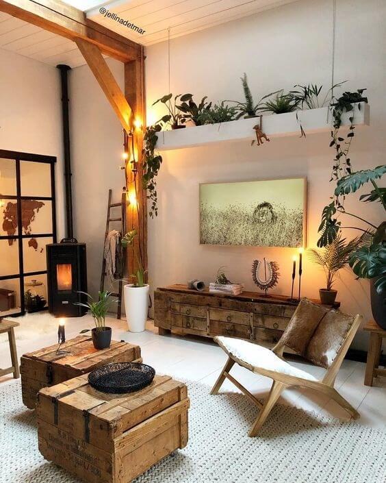 Nội thất gỗ mang đến sự ấm áp cho không gian sống của gia đình bạn