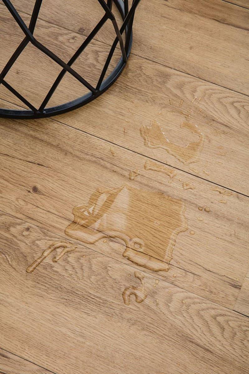 Sàn gỗ chống thấm có thể lắp đặt ở bất kỳ khu vực nào trong nhà